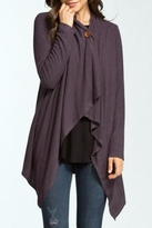 Cherish Asymmetrical Wrap Cardigan