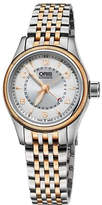 Oris 59476804361mb Aviation rose gold-plated stainless steel watch