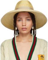 Gucci - Chapeau à rebord large en