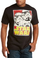 CasualMale Star Wars Stormtrooper Trading Card Big & Tall Short Sleeve Graphic T-Shirt (4XTALL, )