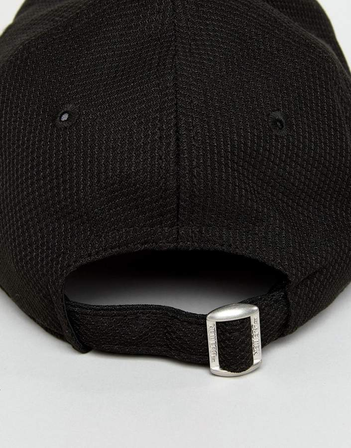 New Era 9forty Cap With Sports Mesh And Breathable Fabric In Black