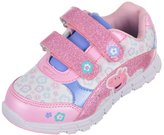 "Peppa Pig Girls' ""Glittery Smile"" Light-Up Sneakers"