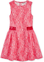 GUESS Bonded Lace Dress, Big Girls (7-16)