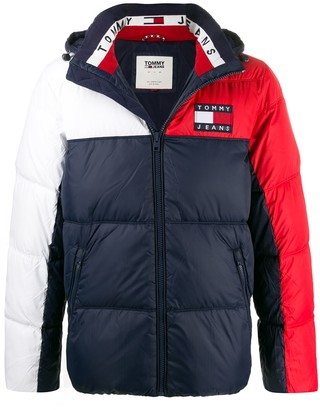 Tommy Jeans Logo Puffer Jacket