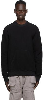 Rick Owens Black Granbury Sweatshirt