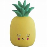 House Of Disaster House of disaster - Yellow Happy Pineapple Lamp - UK Plug - Yellow/Green
