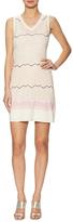 M Missoni Knit Cotton Intarsia Short Dress