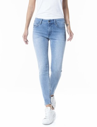 Replay Women's New LUZ Ankle Zip Jeans