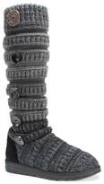 Muk Luks Women's Kalie Cable Knit Sweater Boots