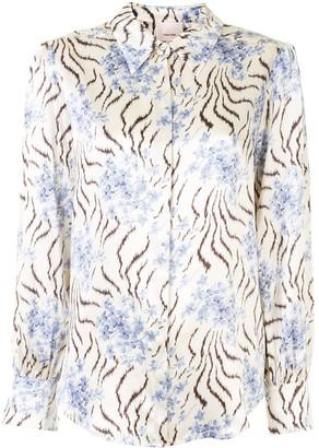 Cinq à Sept Eli flora-print shirt