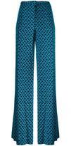 Diane von Furstenberg stylised print trousers - women - Silk - 4