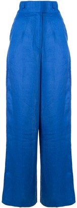 Bambah Wide-Leg Linen Trousers