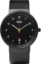 Braun - Bn0032 Stainless Steel And Leather Watch