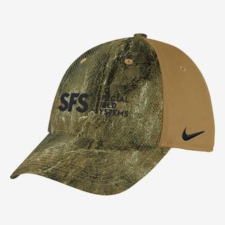 Nike Camo Hat SFS Swoosh Flex