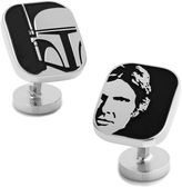 Asstd National Brand Star Wars Han Solo and Boba Fett Cufflinks
