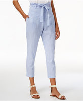 J.o.a. Striped High-Waist Pants