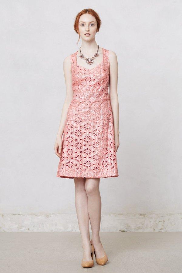 Anthropologie Coralshine Dress