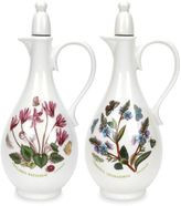 Portmeirion Botanic Garden 2-pc. Vinegar & Oil Set