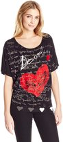 Desigual Women's Knitted T-Shirt Short Sleeve 10