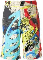 Kokon To Zai 'Graffiti' print shorts
