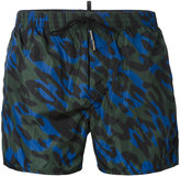 DSQUARED2 camouflage print swim shorts - men - Polyamide - 48