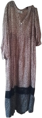 Stella Forest Camel Cotton Dress for Women