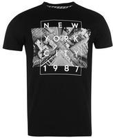 Fabric Birds Eye New York T Shirt