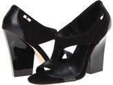 Calvin Klein Caryn (Black Suede/Nappa) - Footwear