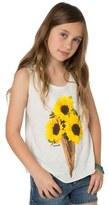 O'Neill Sunflower Cone Graphic Tank (Little Girls & Big Girls)