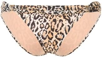 Melissa Odabash Grenada leopard bottoms
