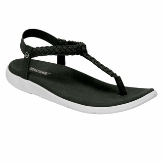 Regatta Women's Santa Luna' PU Leather Elasticated Heel Strap Lightweight Rubber Outsole Sandals