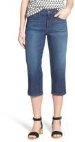 NYDJ &Ariel& Stretch Crop Jeans (Petite)