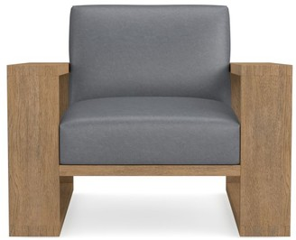 Williams-Sonoma Moritz Leather Occasional Chair