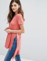 Only Jewel Slit Tunic T-Shirt