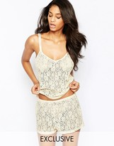 Wolfwhistle Wolf & Whistle Lace Shorts