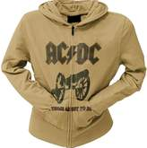 AC/DC - About To Rock Juniors Zip Hoodie