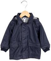 Petit Bateau Boys' Hooded Rain Jacket w/ Tags