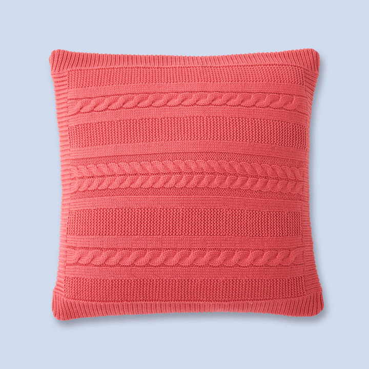 Jacadi Buttoned cable knit pillowcase