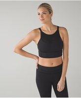 Lululemon Clip-In Long Line Bra