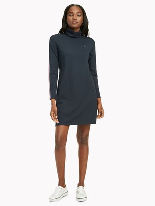 Tommy Hilfiger Essential Stripe Turtleneck Dress