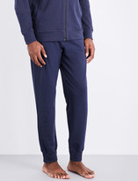 Hanro Solid cotton-jersey jogging bottoms