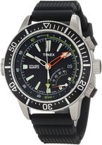 """Timex Men's T2N810DH """"IQ Adventure Series"""" Stainless Steel Dive Watch"""
