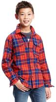 Old Navy Plaid Flannel Shirt for Boys