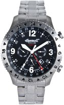 Ingersoll Men's Columbus IN3206BKMB Silver Stainless-Steel Automatic Watch with Dial
