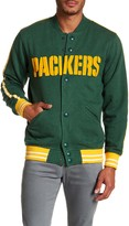 Mitchell & Ness Green Bay Packers Fleece Jacket
