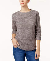 Karen Scott Petite Sweatshirt, Created for Macy's