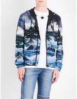 Givenchy Hawaiian-print Hooded Shell Jacket
