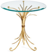 One Kings Lane Wheat-Sheaf Side Table - Gold