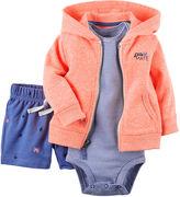 Carter's 3-pc. Cardigan, Bodysuit and Pants Set - Baby Boys newborn-24m