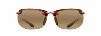 Maui Jim Sunglasses | Banyans H412-1025 | Tortoise Sport Frame Frame Polarized Hcl Bronze Lenses with Patented PolarizedPlus2 Lens Technology